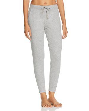 NATURAL SKIN Jordan Organic Cotton Jersey Pants in Heather Gray