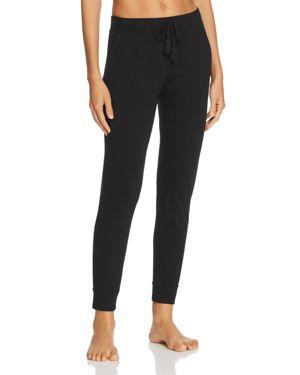 NATURAL SKIN Jordan Organic Cotton Jersey Pants in Black