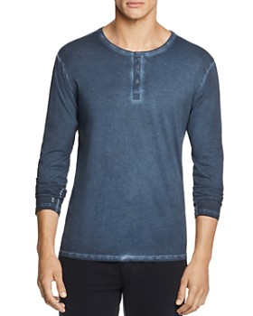 ATM Anthony Thomas Melillo - Pigment-Dyed Henley