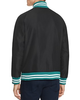 Sovereign Code - Hunter Stripe-Trimmed Bomber Jacket