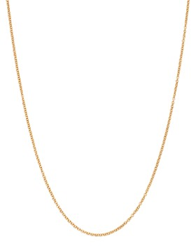 """Dodo - 18K Yellow Gold Necklace, 15.7"""""""
