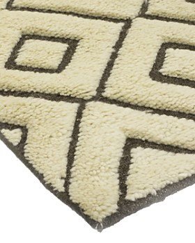 """Solo Rugs - Rabat Shehri Hand-Knotted Area Rug, 6' 4"""" x 9' 3"""""""