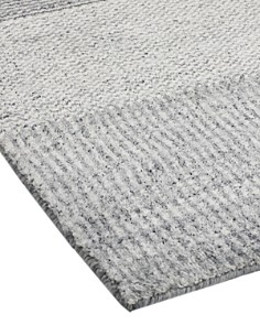 Solo Rugs - Modern Blanche Hand-Knotted Area Rug, 9' x 12'