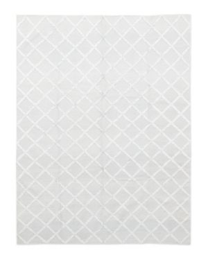 Solo Rugs Flatweave Nadia Hand-Knotted Area Rug, 9'1 x 12'1