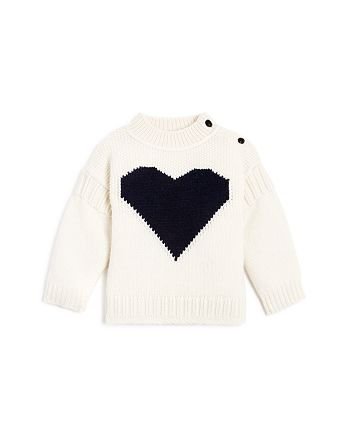 Burberry - Girls' Heart Sweater - Baby