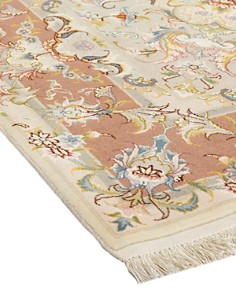 """Solo Rugs - Tabriz Beulah Hand-Knotted Area Rug, 5' 0"""" x 7' 0"""""""