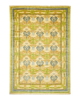 Solo Rugs - Arts & Crafts Vichy Hand-Knotted Area Rug Collection