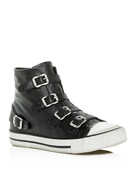 Ash - Women's Virgin Leather High Top Sneakers