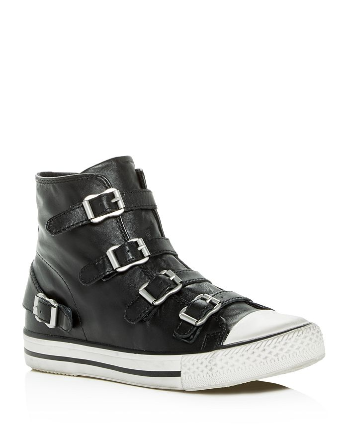 Ash - Women's Virgin Leather High Top Sneakers