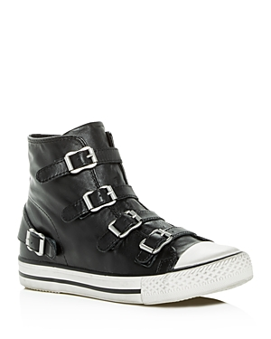Ash Women's Virgin Leather High Top Sneakers