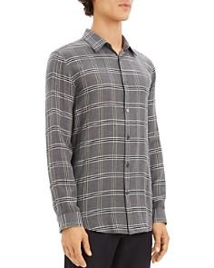 Theory - Tait Lightweight Plaid Regular Fit Shirt