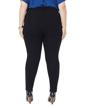 NYDJ Plus - Ami Skinny Jeans in Black