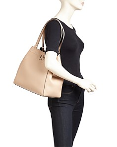Tory Burch - McGraw Large Leather Carryall Tote