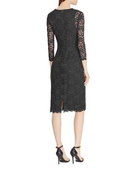 Ralph Lauren - Lace Sheer-Sleeve Dress
