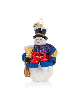 Christopher Radko - One Frosty Fellow Ornament