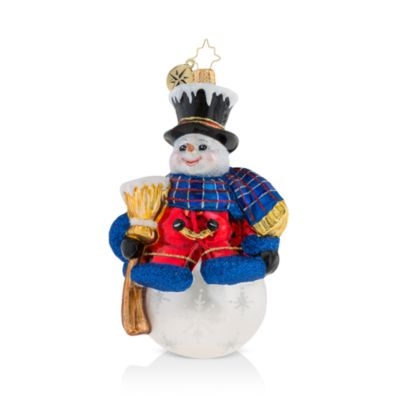 One Frosty Fellow Ornament by Christopher Radko