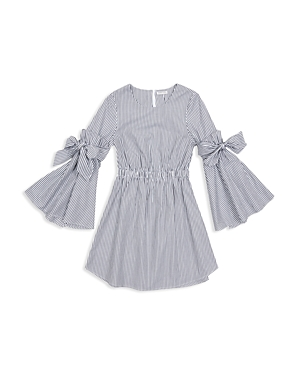 Habitual Girls Rosie Striped BellSleeve Dress  Big Kid