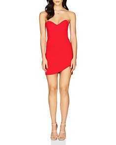 Nookie - Bisous Strapless Sweetheart Mini Dress