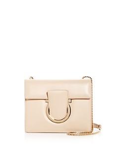 Salvatore Ferragamo - Thalia Small Leather Convertible Shoulder Bag