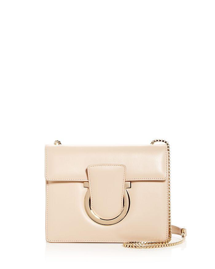 a6388ad1e1 Salvatore Ferragamo Thalia Small Leather Convertible Shoulder Bag ...