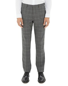 Theory Mayer Tonal Glen Plaid Dress Pants - Bloomingdale's_0