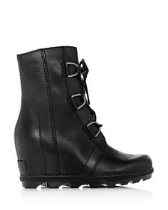 Sorel - Women's Joan of Arctic II Waterproof Leather Hidden Wedge Boots