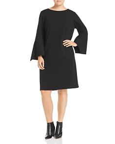 Lafayette 148 New York Plus - Paloma Flare-Sleeve Dress