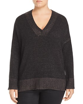Lafayette 148 New York Plus - Vanise Relaxed Cashmere Sweater
