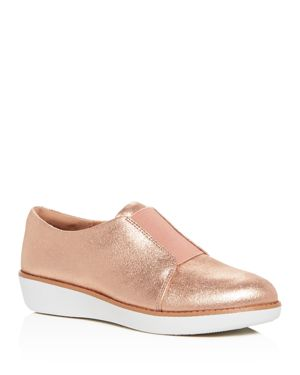 Laceless Derby, Apple Blossom Leather