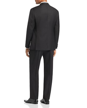 Emporio Armani - Black Regular Fit Notched-Lapel Tuxedo