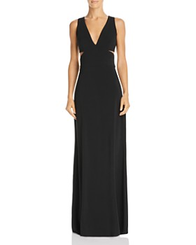 Laundry by Shelli Segal - Sleeveless Cutout Gown