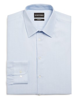 Armani - Micro Dot Modern Fit Dress Shirt