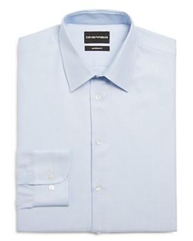 Armani - Micro Dot Modern Fit Dress Shirt