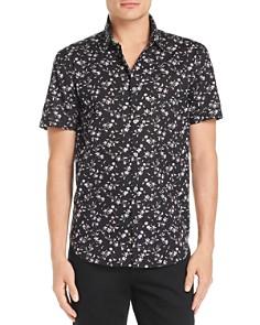 John Varvatos Star USA Short-Sleeve Regular Fit Floral-Print Shirt - 100% Exclusive - Bloomingdale's_0