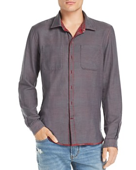 John Varvatos Star USA - Double-Faced Regular Fit Reversible Shirt - 100% Exclusive