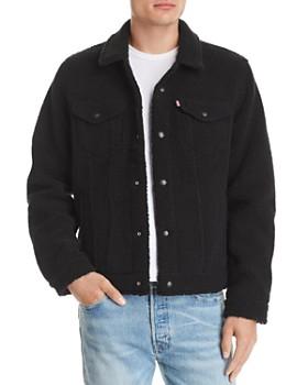 Levi's - Faux-Shearling Trucker Jacket
