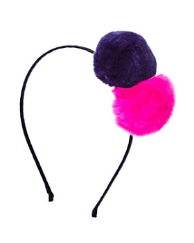 GiGi - Girls' Fur Pom-Pom Headband - 100% Exclusive