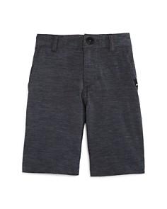 Quiksilver - Boys' Union Heathered Amphibian Swim Shorts - Little Kid