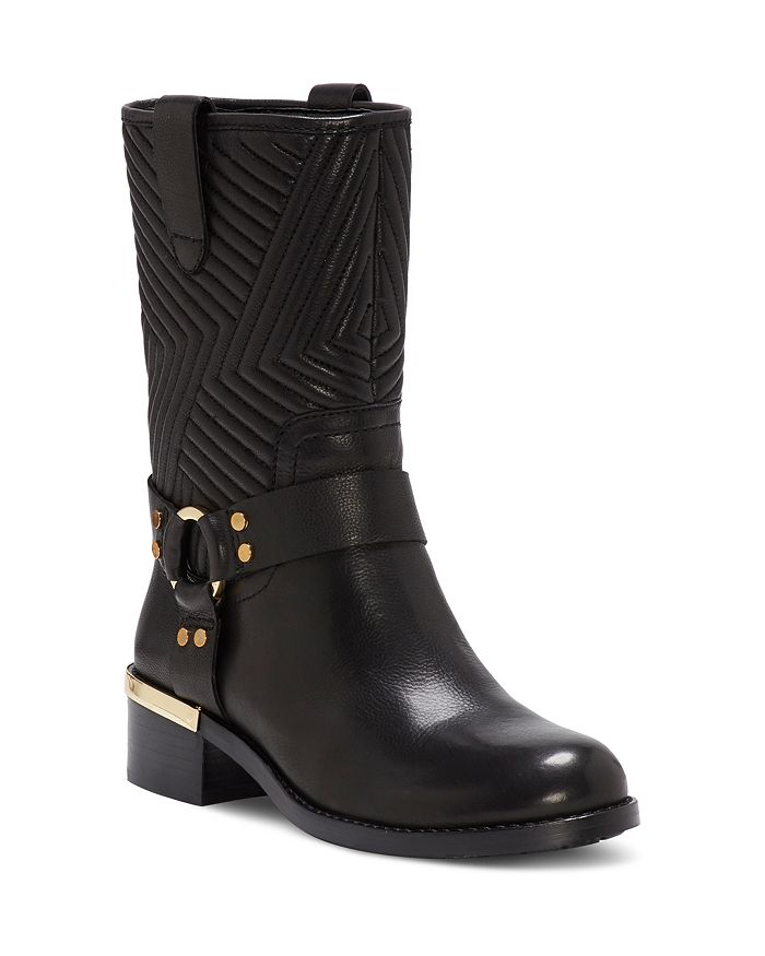 43019d04b33 VINCE CAMUTO - Women s Walden Round Toe Leather Booties