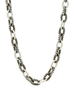 "Freida Rothman - Industrial Chain Necklace, 20"""