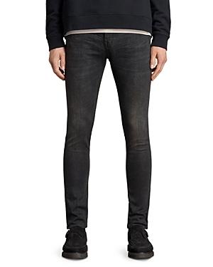 Allsaints Cigarette Skinny Fit Jeans