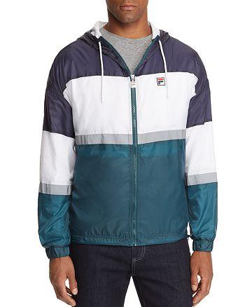 FILA - Cedric Color-Block Windbreaker Jacket