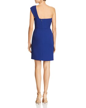 Bcbgmaxazria Na One Shoulder Tail Dress