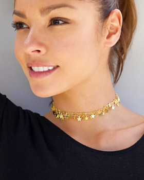 Jules Smith - Star Choker Necklace, 12""