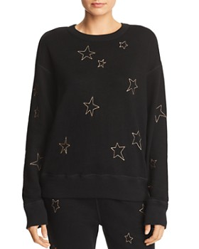 n PHILANTHROPY - Montreal Star Embroidered Sweatshirt