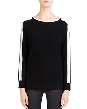 Gerard Darel - Clarisse Sleeve-Stripe Sweater