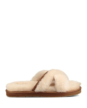 UGG® - Women's Abela Open Toe Sheepskin Slide Sandals