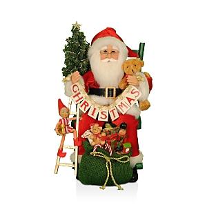 Karen Didion Originals Lighted Christmas Eve Santa, 15