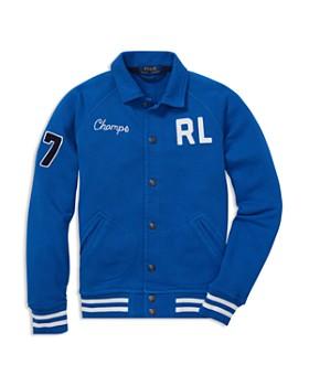 Ralph Lauren - Boys' Terry Baseball Jacket - Big Kid