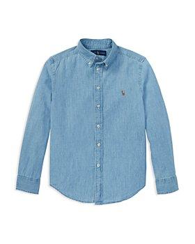 Ralph Lauren - Boys' Chambray Button-Down Shirt - Little Kid, Big Kid
